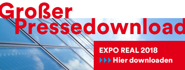 Großer Pressedownload zur EXPO REAL 2018at